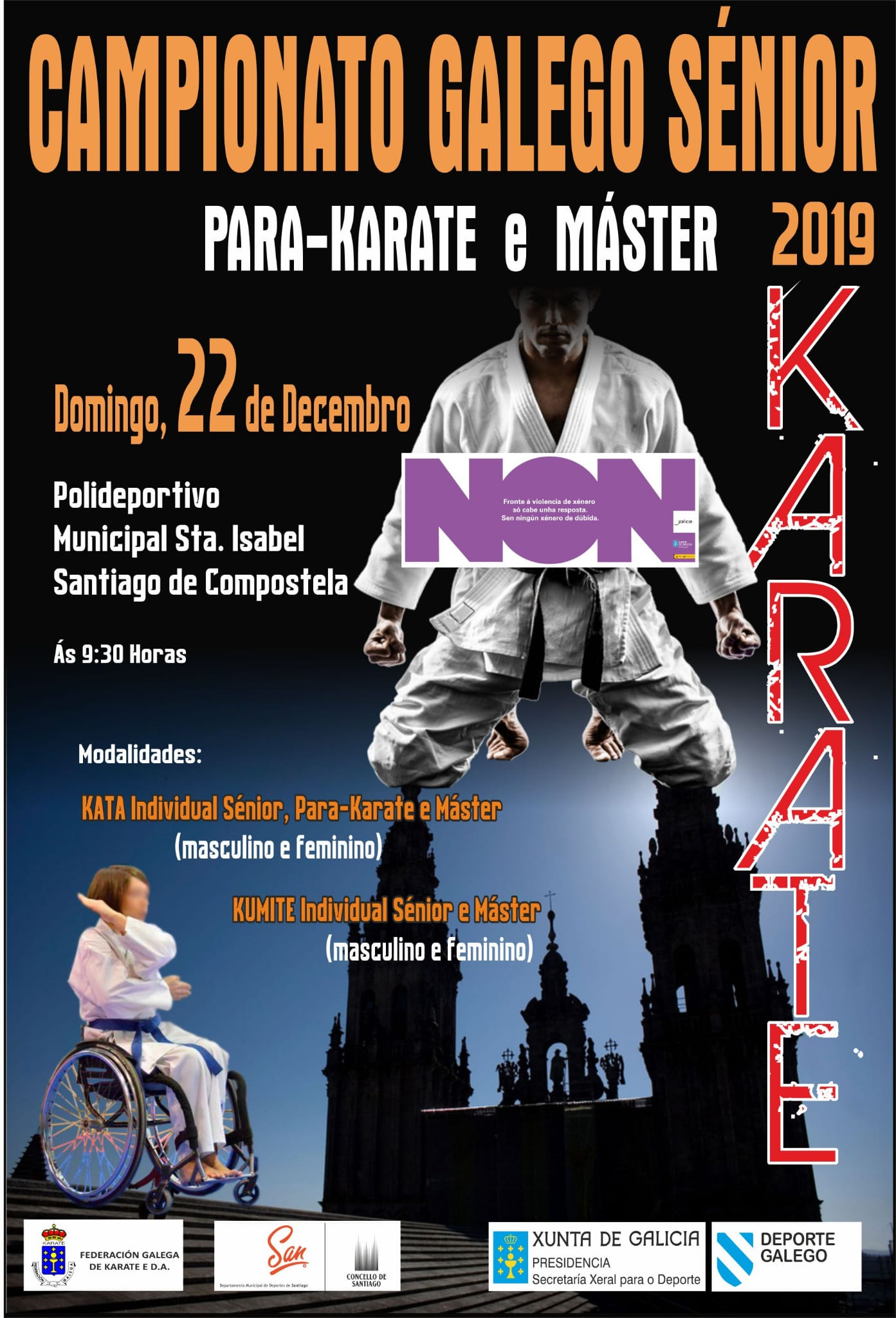 Campeonato Sénior-Veteranos-ParaKarate 2019-2020