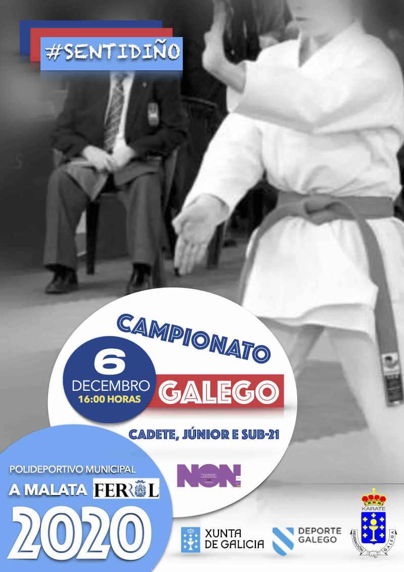 Campionato Galego Cadete, Júnior e Sub-21 2020