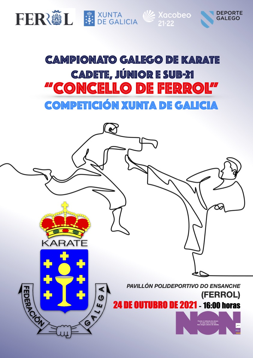 Campionato Galego Cadete, Júnior e Sub-21 2021