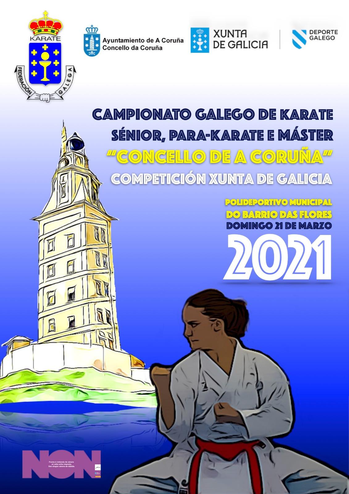 Campionato Galego Sénior-Máster-ParaKarate 2021